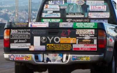 Stupid Bumper Stickers