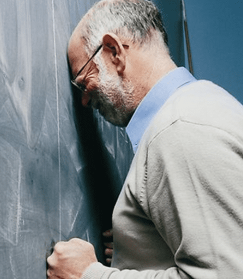 Frustrated Jr. Church teacher